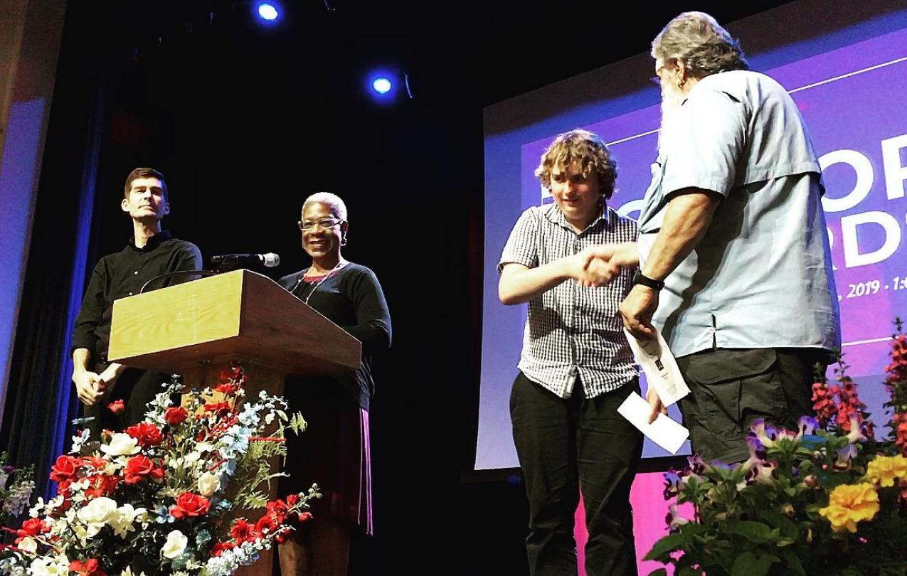 Local 3025 officers award scholarships at Florida School for the Deaf and Blind Graduation