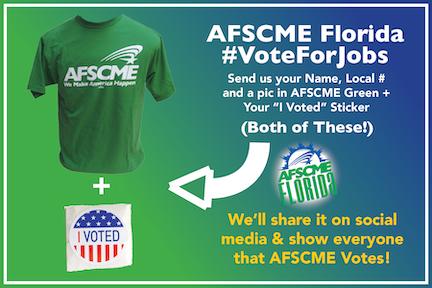 AFSCME Florida Votes Graphic