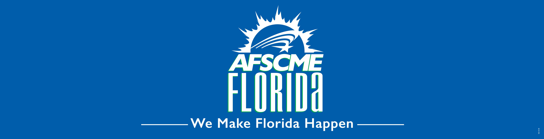 AFSCME FL Banner