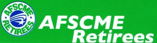 AFSCME Retirees Logo